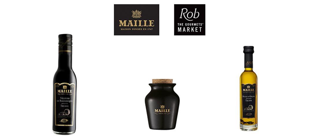 La maison Maille imagine une collection truffe raffinée et gourmande pour les fêtes