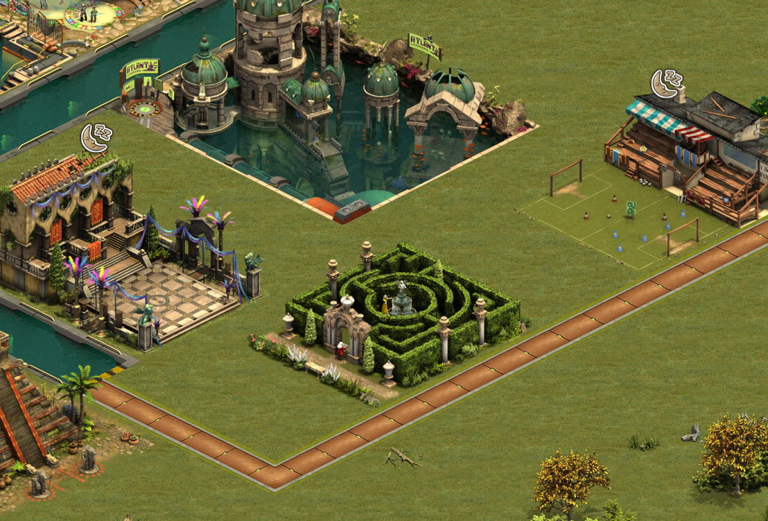 Forge of Empires - Heckenlabyrinth
