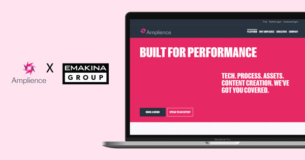 Emakina Group partners with Amplience for new shared global commerce opportunities