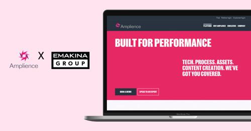 Emakina Group start wereldwijd commerce-partnerschap met Amplience
