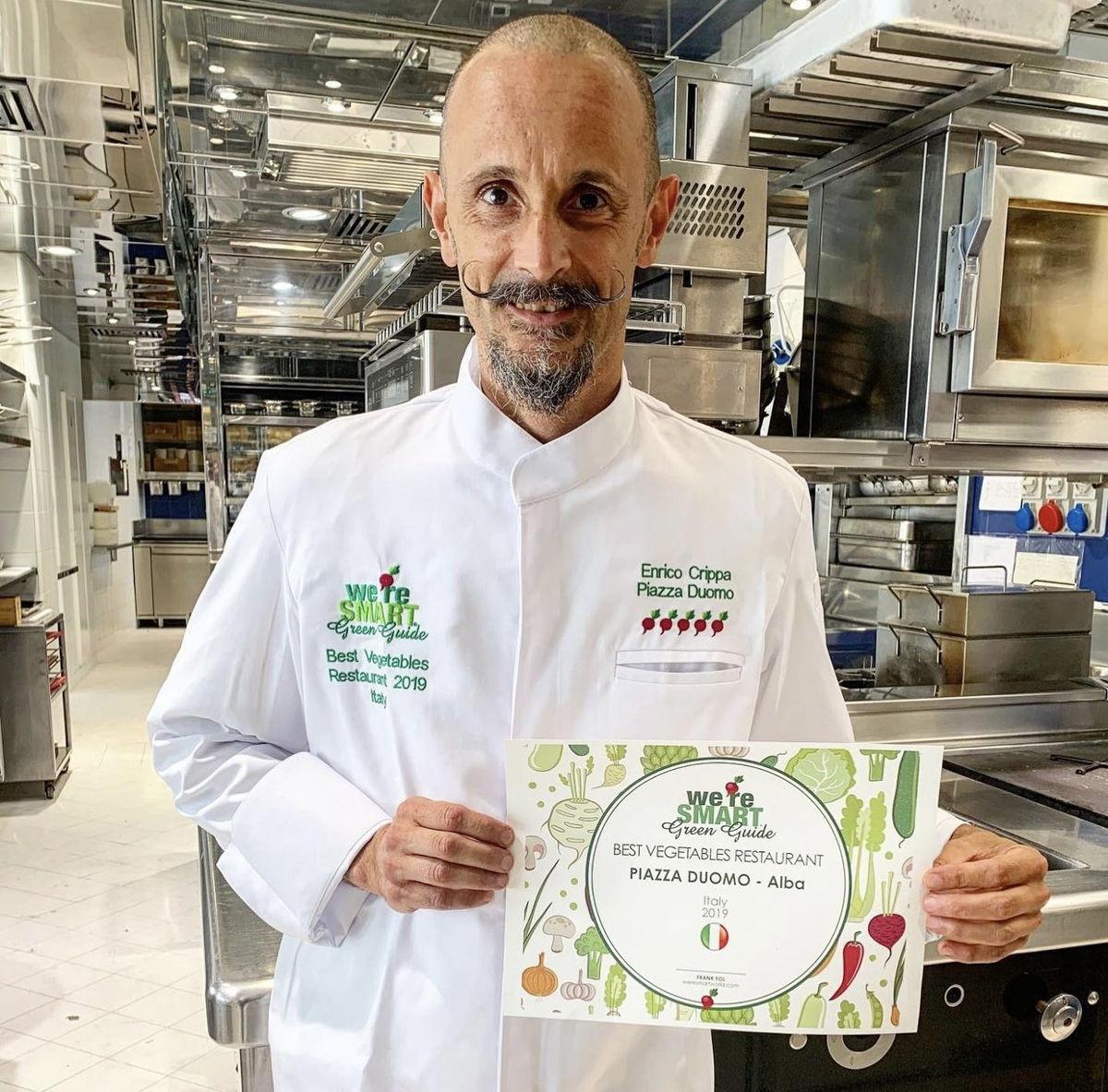 Chef Michelangelo Mammoliti (La Madernassa) - winner We