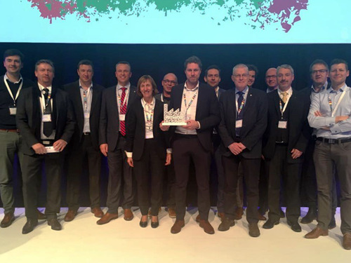 REYNAERS ALUMINIUM WINS 'FACTORY OF THE FUTURE AWARD' THANKS TO EXTENSIVE DIGITALIZATION