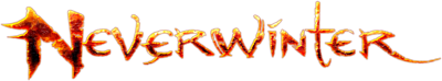 Dungeons & Dragons Neverwinter sala stampa Logo