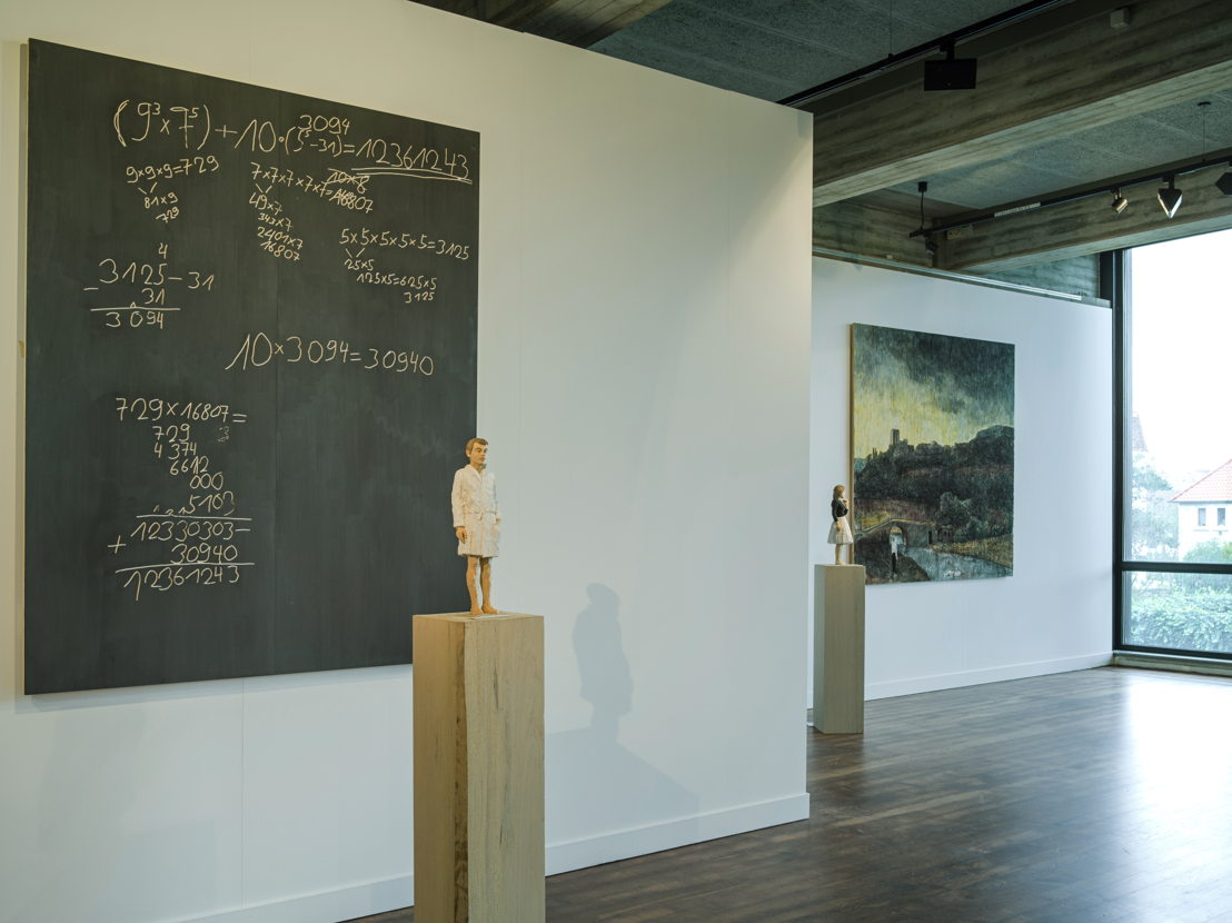 Expo Stephan Balkenhol - Curator Jo Coucke - Photo: Cedric Verhelst