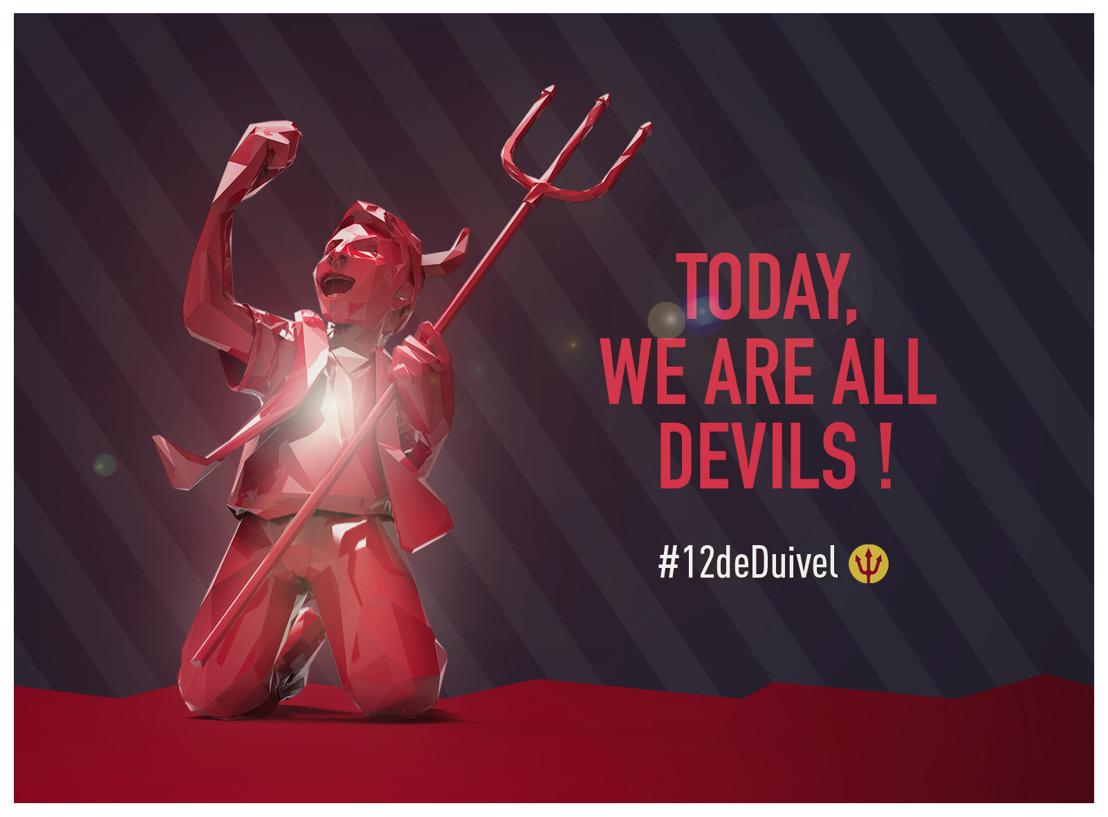 Havas Experience en Luminus zetten de energie van de Belgische supporters in de spotlight