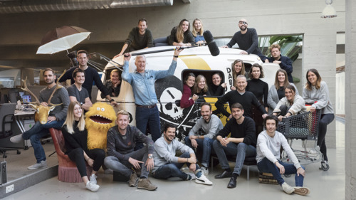 27 happy campers join the TBWA crew