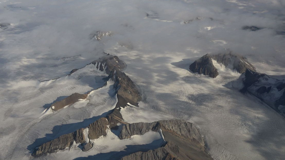 Norway mountains aerial