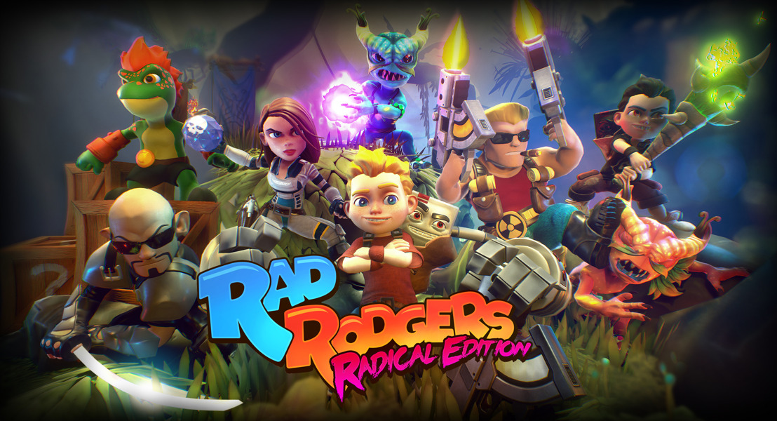 Rad Rodgers: Radical Edition Debuts Co-Op, New Characters on Nintendo Switch™ February 26