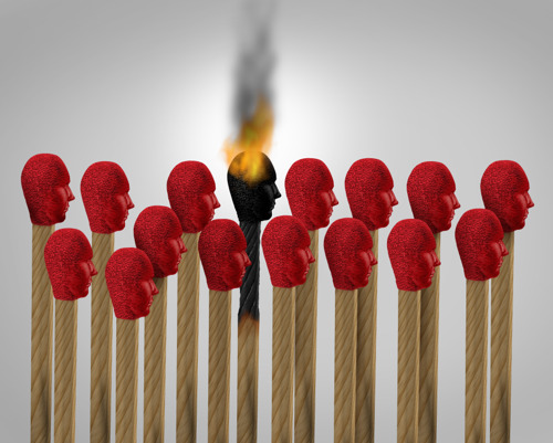 Employee-employer communication failure can cause burnout