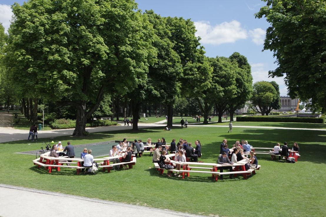 European Canteen Parc du Cinquantenaire (Copyright eQuama)