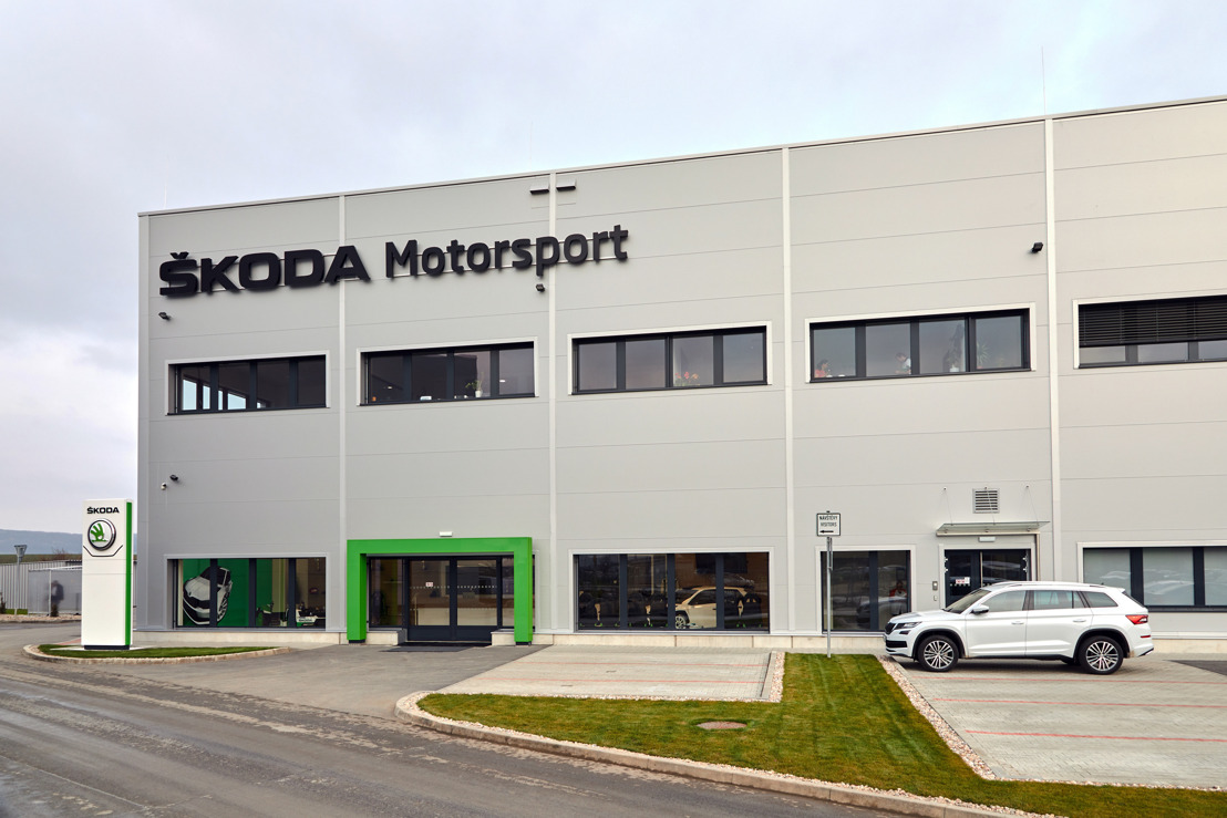 ŠKODA FABIA R5 got a new home base - New headquarter for ŠKODA Motorsport