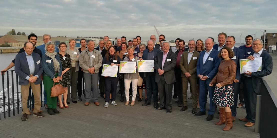 Bedrijven uit de Gentse Kanaalzone investeren andermaal in Landschapsfonds voor extra buffergroen