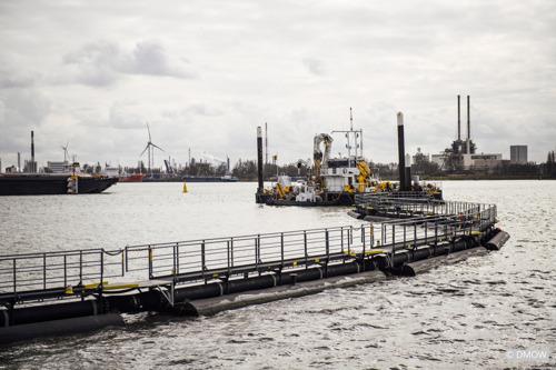 Vlaamse overheid, Port of Antwerp en SeReAnt verbeteren samen de waterkwaliteit van de haven van Antwerpen