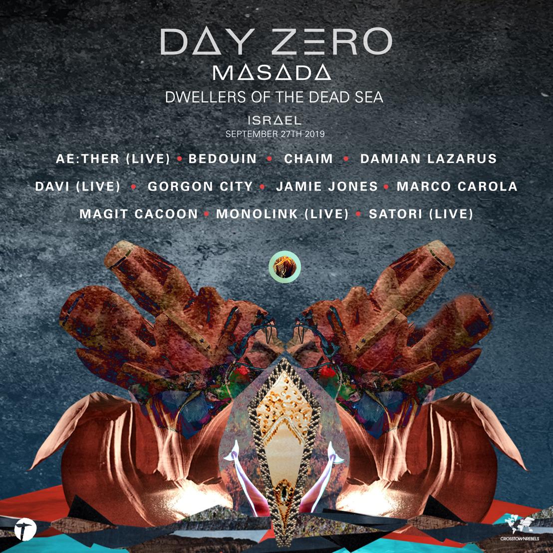 Damian Lazarus Announces Lineup for Day Zero Masada: Dwellers of the Dead Sea