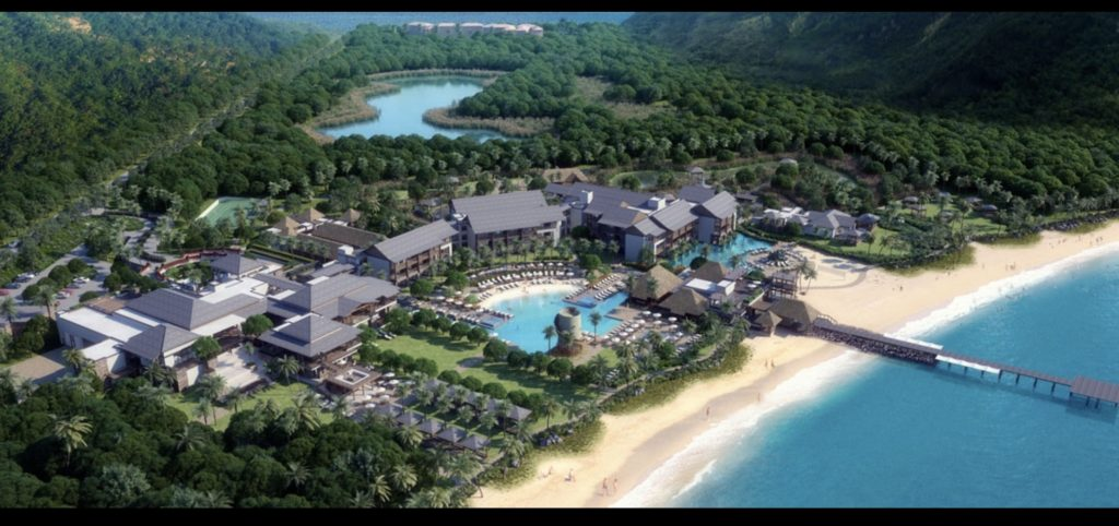 The new Park Hyatt St. Kitts and Nevis
