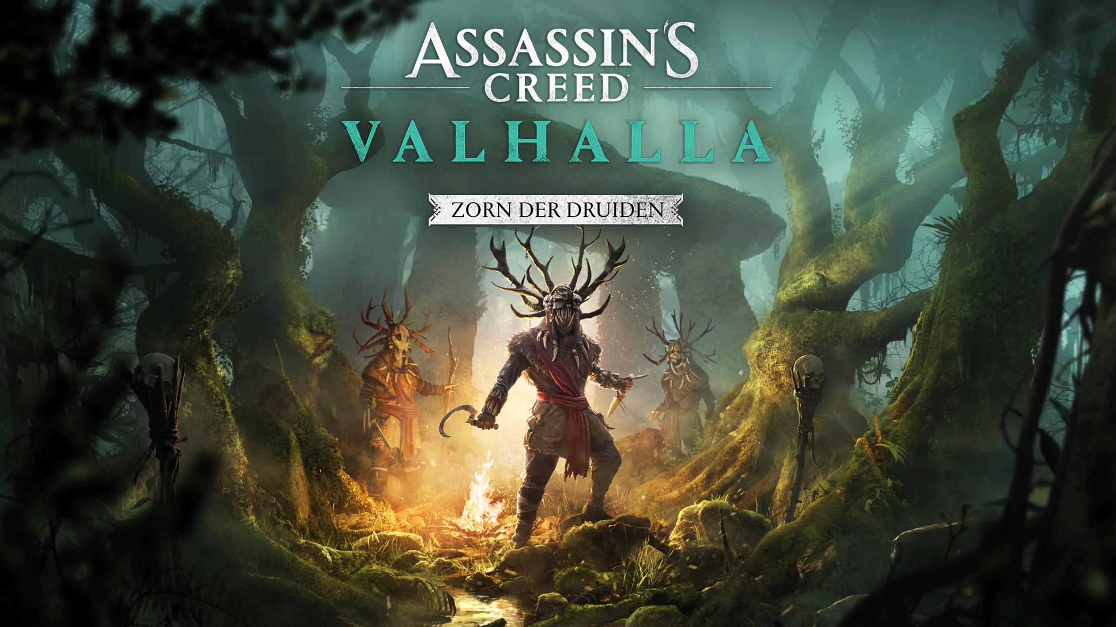 Preview: ASSASSIN'S CREED VALHALLA - ZORN DER DRUIDEN ERSCHEINT AM 29. APRIL, DAS EASTRE-FEST KANN AB SOFORT GEFEIERT WERDEN