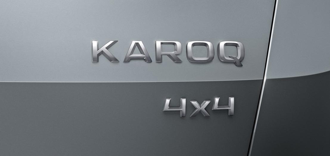 Nieuwe compacte SUV van ŠKODA heet KAROQ