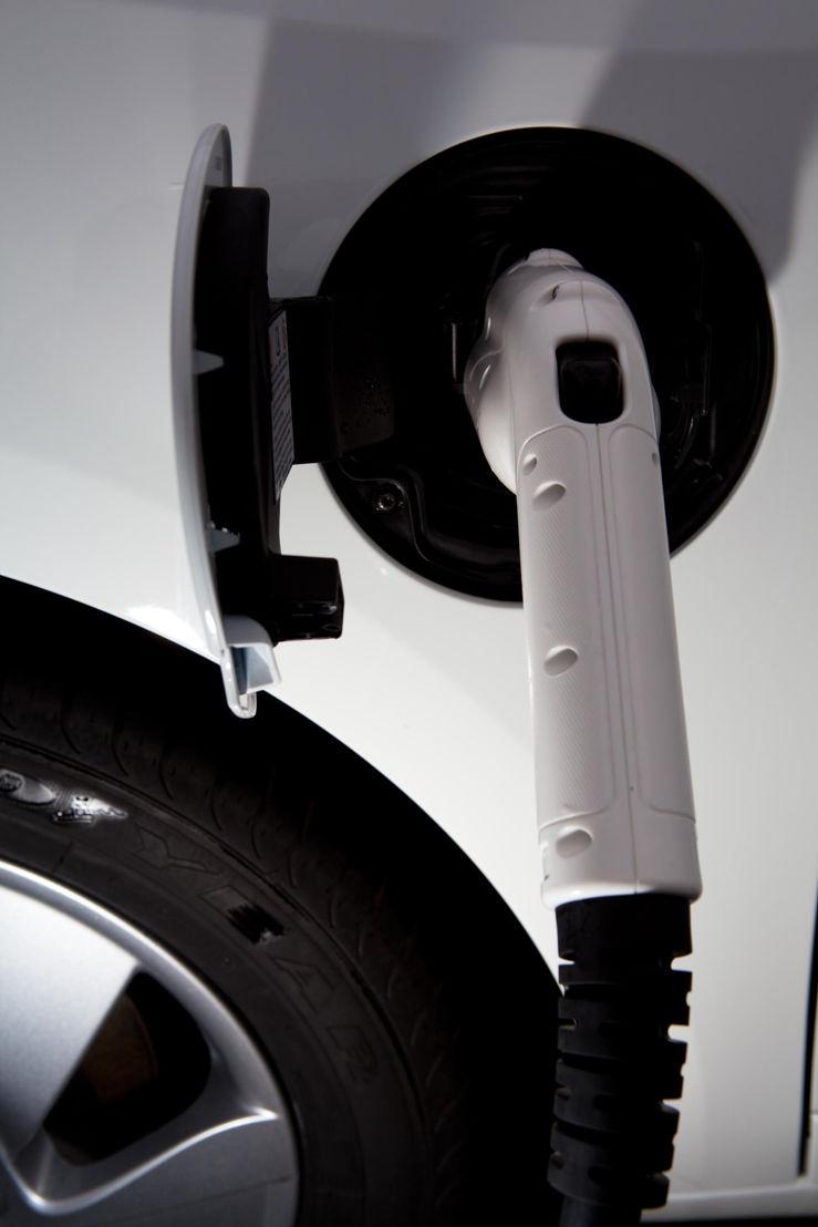 oplader elektrische auto