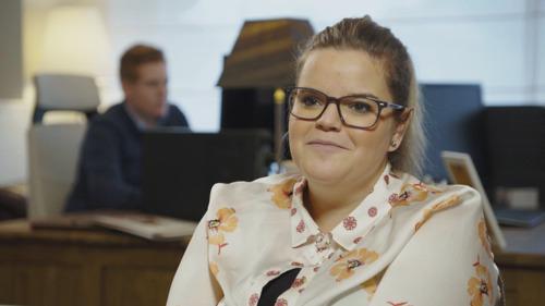 Celien Deloof showt makelaarstalent in Huizenjagers