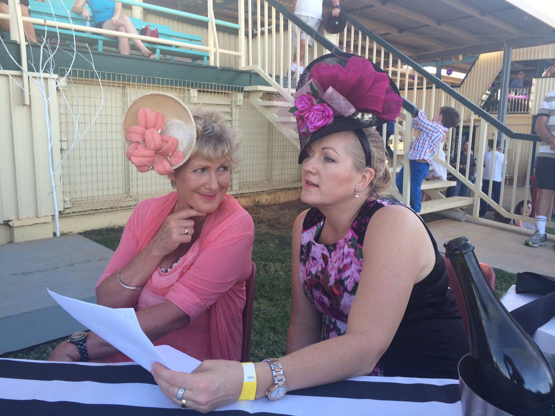 Ep 2 Winton Heather judging with Melissa Elliott at Winton races