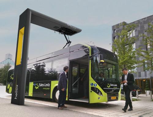 Heliox: Elektrobus mit Schnellladebatterie wirkt Luftverschmutzung entgegen