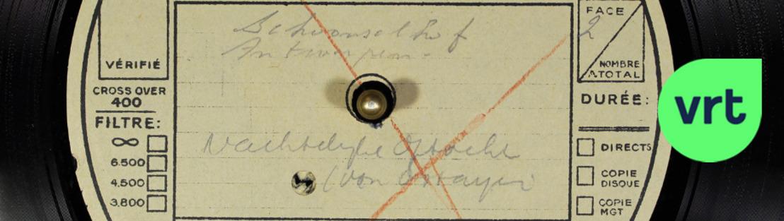 VRT-archief ontdekt uniek klankfragment over Paul van Ostaijen