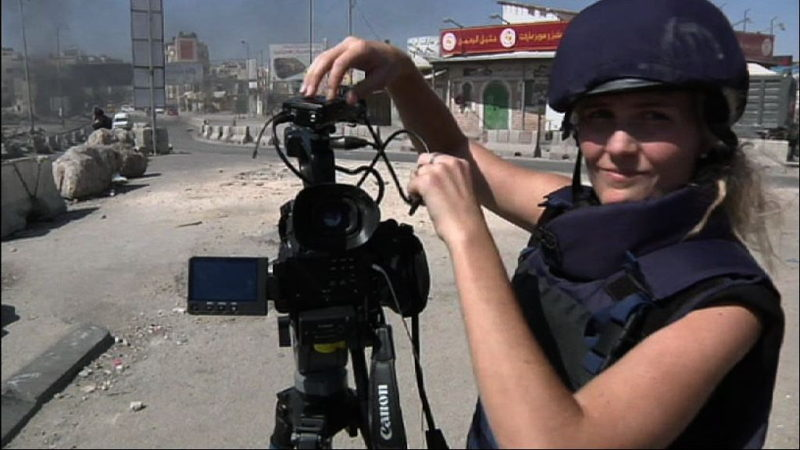 Sophie McNeill & camera