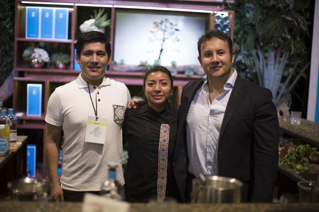 Adan Hernández de Xaman Bar, Chef Josefina Lopez Mendez, Javier Baumeistier de Epicentro