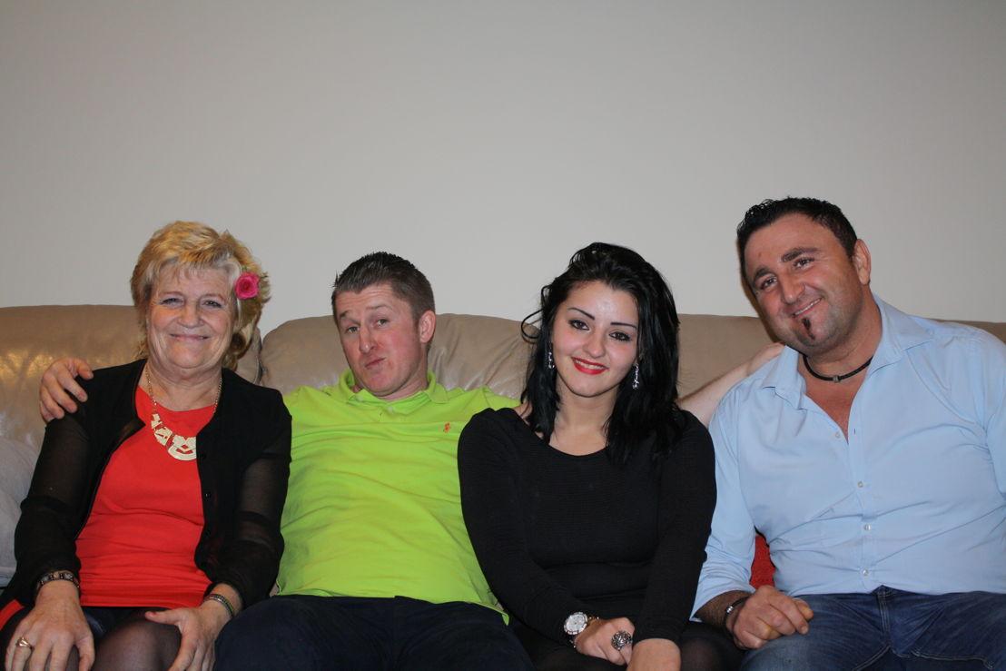 Marina, Thijs, Shana en Sammy