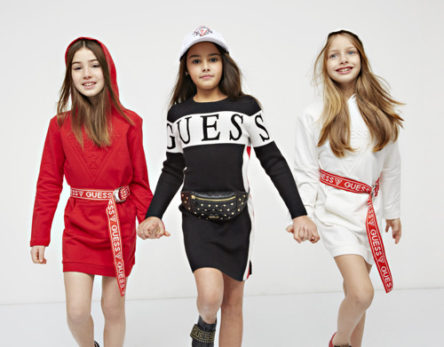 GUESS Kids FW18: Back to School with the Class of 1990