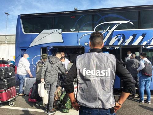 Communiqué de presse | 156 Syriens réinstallés en Belgique