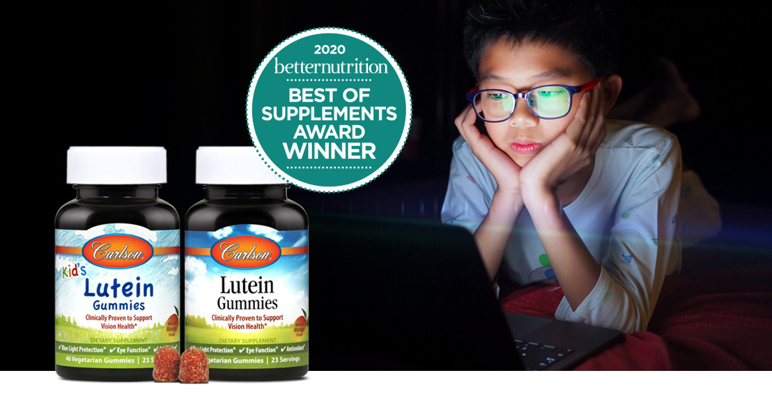 Carlson Wins a Best of Supplements Award for Lutein Gummies