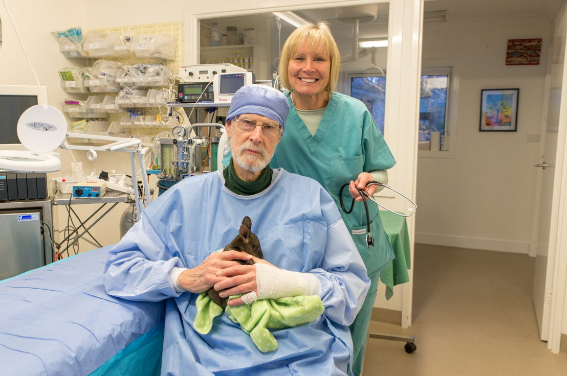 Australian Story Belinda Green and Dr Howard Ralph.  Pic credit Kelly Sturgiss.