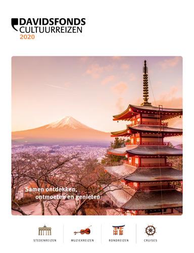 Davidsfonds Cultuurreizen lanceert nieuw reisaanbod 2020 en nieuwe kennismakingsformule