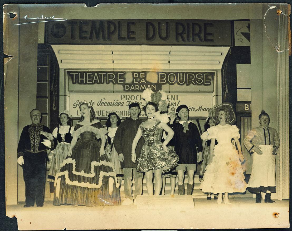 Théâtre de la Bourse 1946, archief Roger Van de Voorde