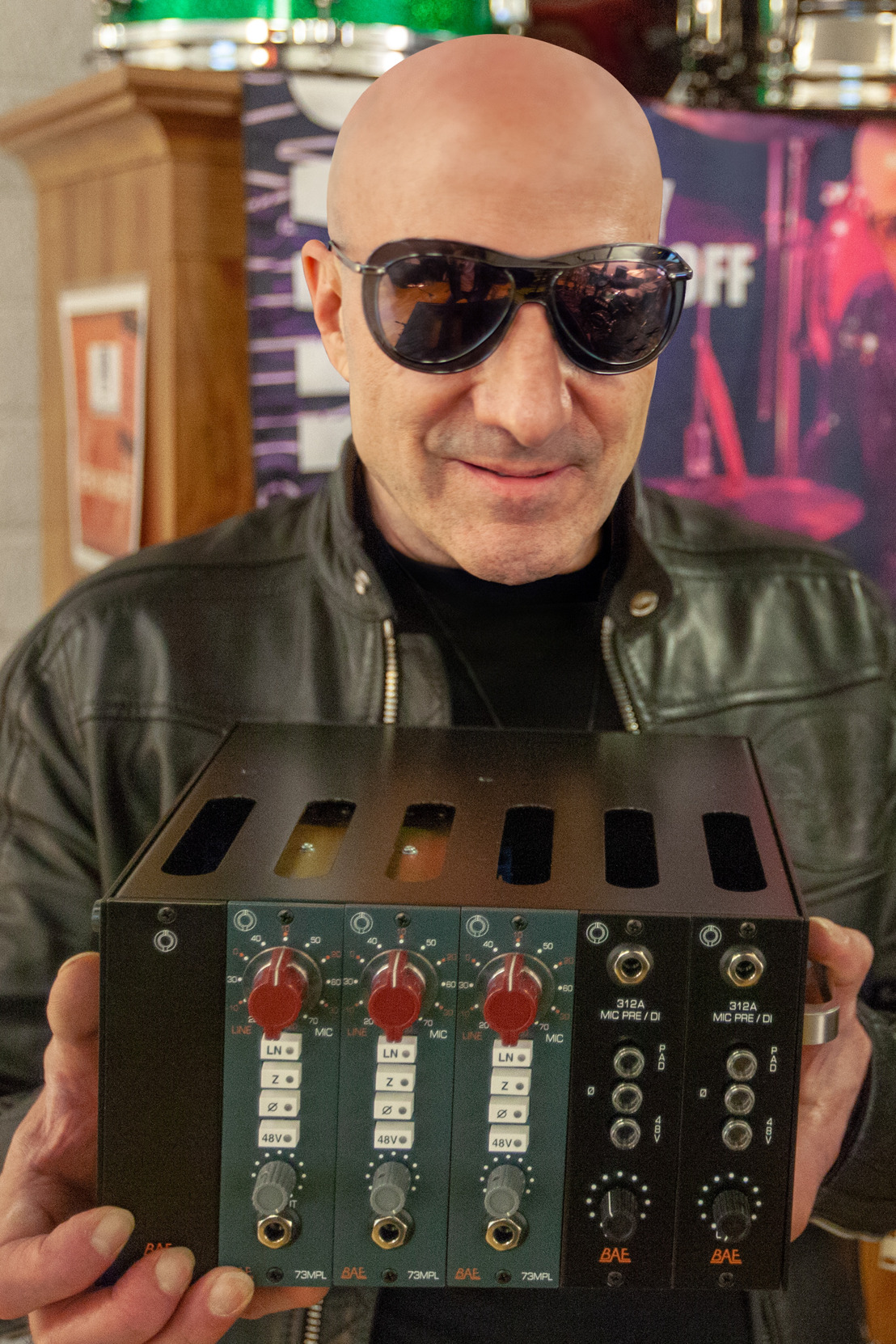 BAE Announces Recording Bundle with World-Class Drummer Kenny Aronoff