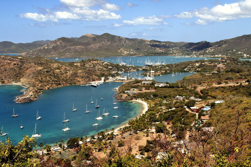 Views from Antigua