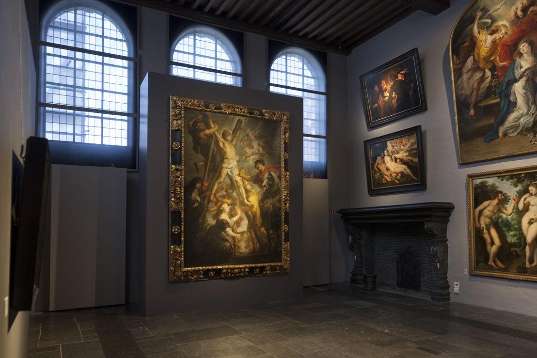 Peter Paul Rubens,<br/>Marteldood H. Andreas, (in situ in Rubenshuis2), Fundación Carlos de Amberes te Madrid, foto Ans Brys