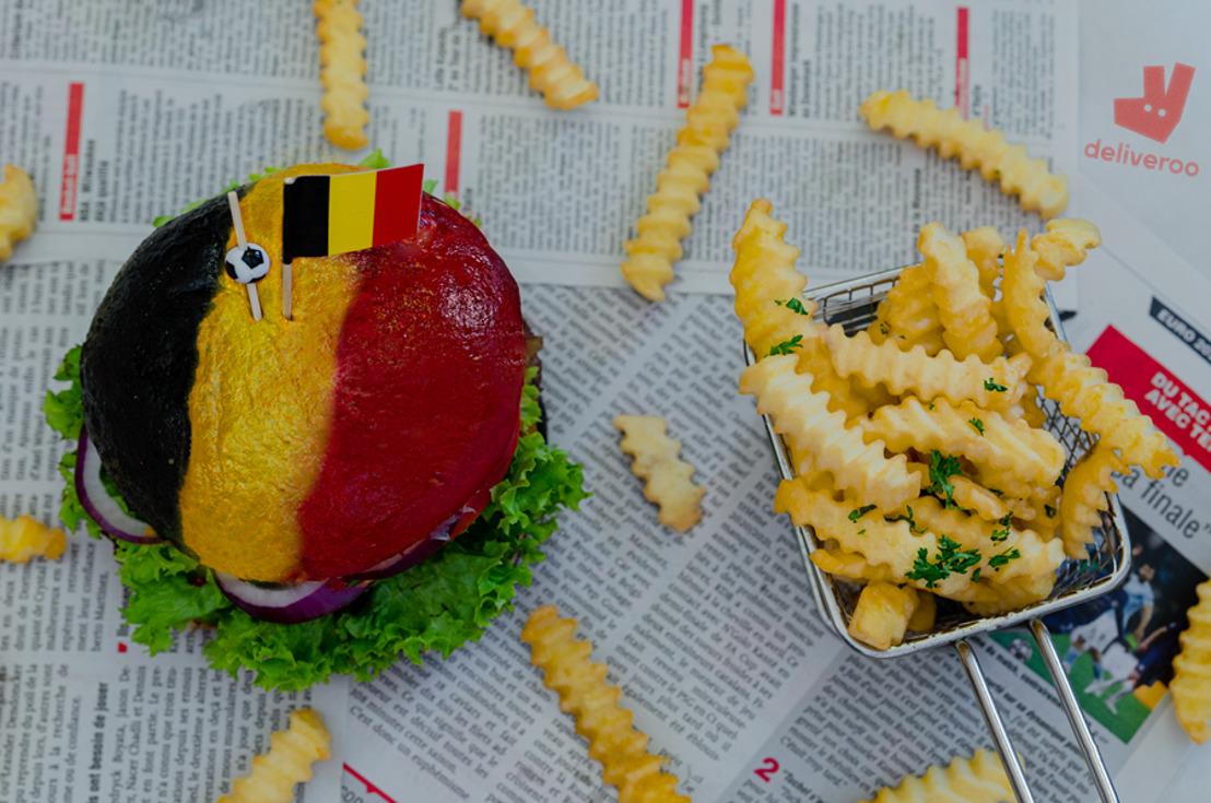 L'ultime burger BELiveroo à commander sur Deliveroo pendant le championnat