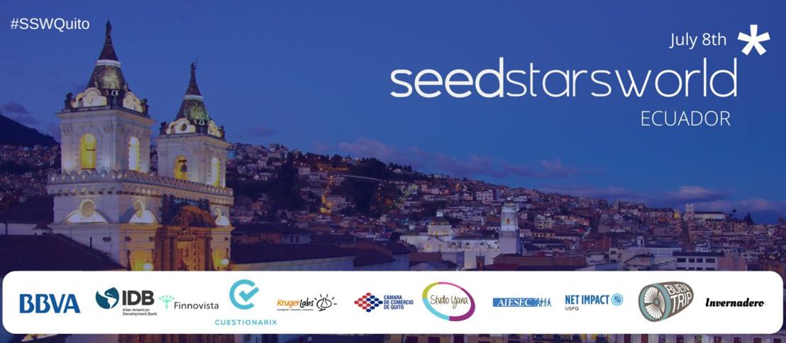 Descubre a las mejores startups de Quito que compiten por ser las mejores startups durante Seedstars Quito