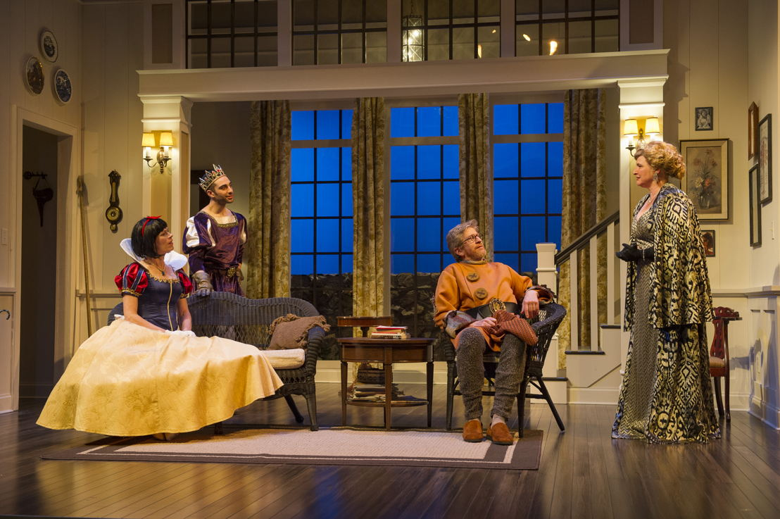 Brenda Robins, Lee Majdoub, R.H. Thomson and Deborah Williams in Vanya and Sonia and Masha and Spike by Christopher Durang / Photos by David Cooper