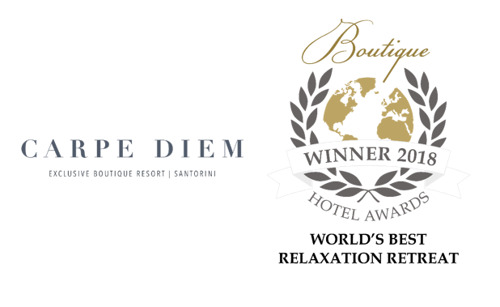 Carpe Diem Exclusive Boutique Resort Named Best Relaxation Retreat