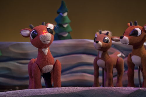 Preview: Rudolph the Red-Nosed Reindeer lights up the Center for Puppetry Arts, November 13-December 30