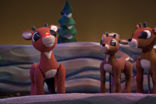 Rudolph the Red-Nosed Reindeer lights up the Center for Puppetry Arts, November 13-December 30