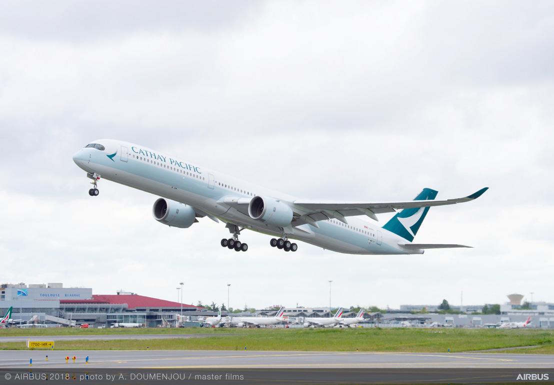國泰航空將採用航空生物燃料接收全新客機返港