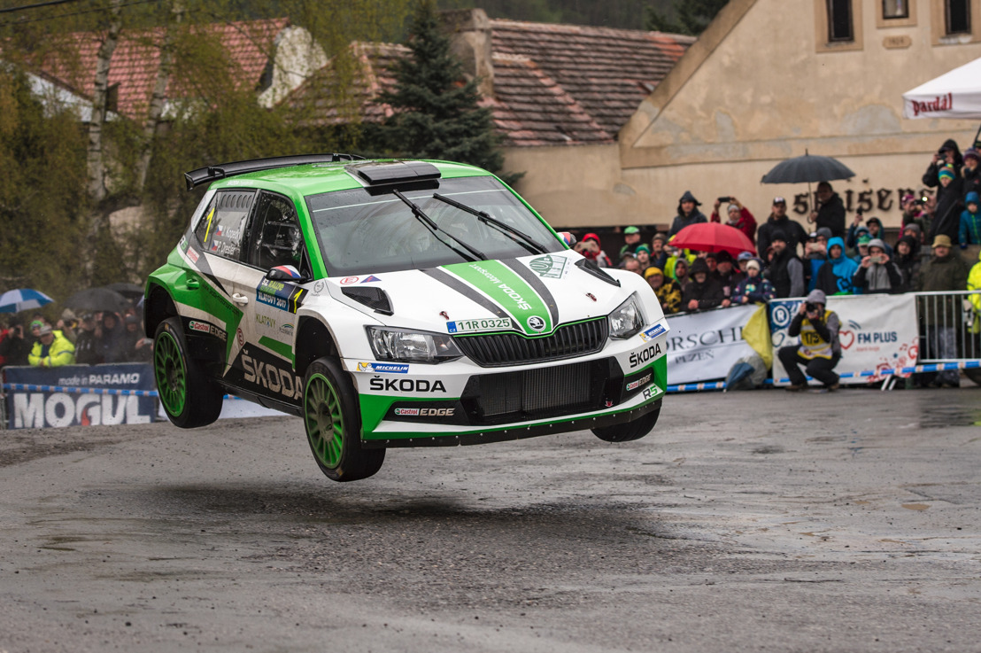 Rally Šumava Klatovy: Jan Kopecký and ŠKODA continue their impressive winning streak