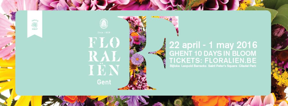 Les Floralies de Gand 2016