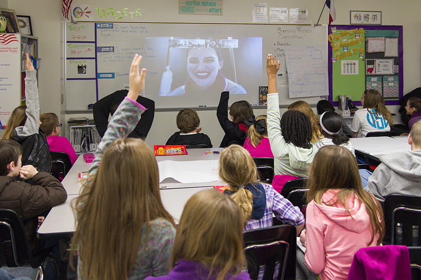Nepris brings classrooms together with working professionals for virtual chats and virtual field trips.