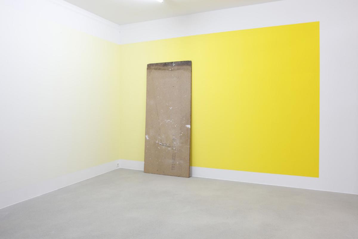 Pieter Vermeersch, Untitled, 2009. Exhibition view 'WITH YOUR EYES ONLY, Kunstverein Medienturm, Graz, Austria, 2009. Photo Rainer Iglar
