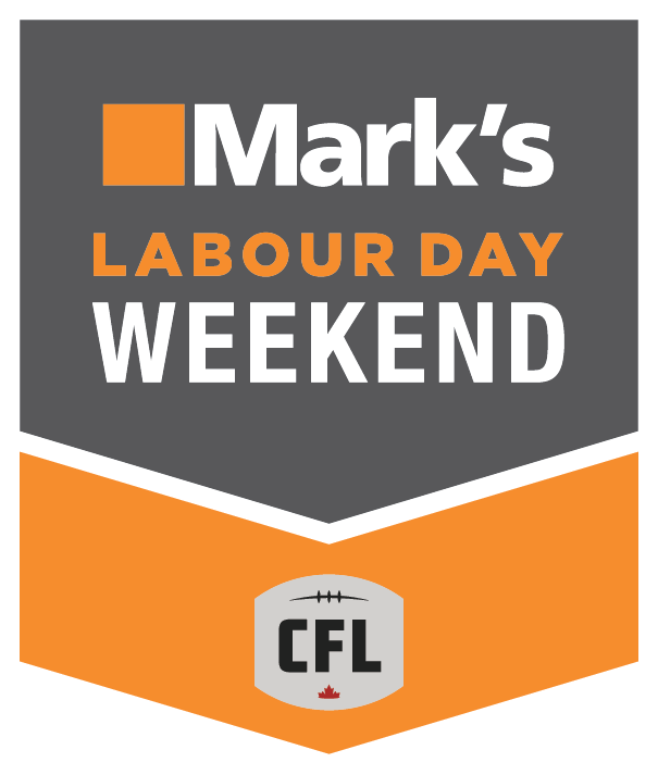 Mark's Labour Day Weekend logo